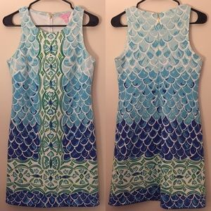 Lilly Pulitzer Scale Back Perla Shift